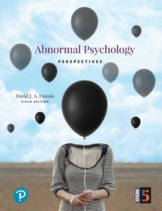 Abnormal Psychology Perspectives 6th Edition by David J. A. Dozois【ebook】