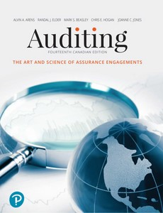 Auditing The Art and Science of Assurance Engagements, Fourteenth Canadian Edition 14th Edition by Alvin A. Arens【ebook】