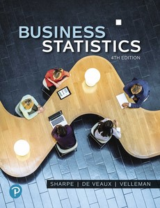 Business Statistics 4th Edition by Norean D. Sharpe【ebook】