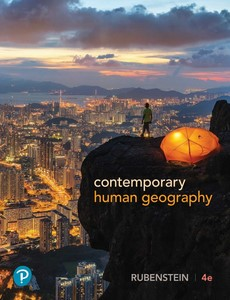 Contemporary Human Geography 4th Edition by James M. Rubenstein【ebook】