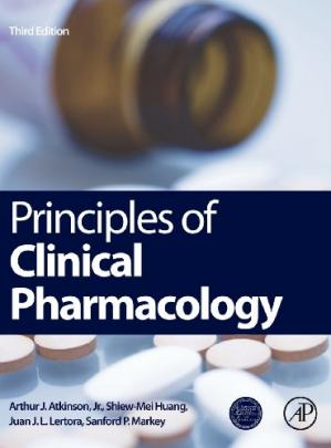 Principles of Clinical Pharmacology, Third Edition