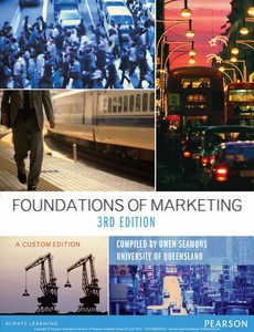Foundations of Marketing 3rd Austrialian Edition by Kotler, Armstrong【ebook】