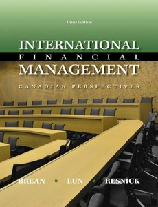 International Financial Management 3rd Canadian Edition by Don Brean【ebook】