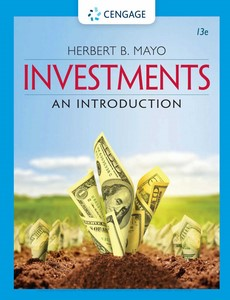 Investments An Introduction 13th Edition by Herbert B. Mayo【ebook】